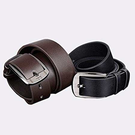 Men Leather Belt,Big Deals!Metal Single Prong Buckle Belt,BCDshop Classic Soft Pin Buckle Belt