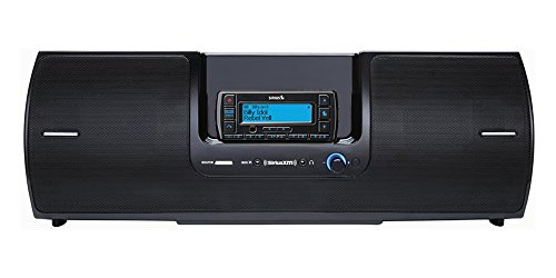 SiriusXM Radio SXSD2 Portable Boombox With Stratus Receiver (receiver only) Bundle