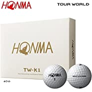 Honma TW-K1 Tour World Golf Balls 1 Dozen