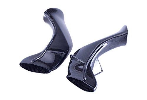 Bestem CBYA-R104-AIT Carbon Fiber Ram Air Tubes for Yamaha YZF R1 2004 2005 (Ait Carbon)