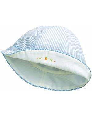 Baby-Boys Newborn Peek-A-Boo Sun Hat - Boy