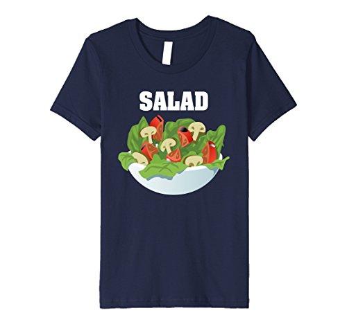 Kids Salad Group Costume Premium Shirt - Burger, Fries & Salad 4 (Burger Group Costume)