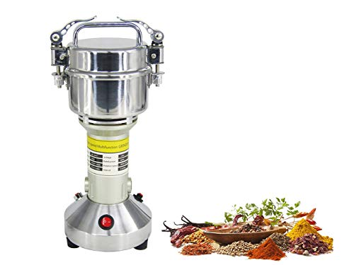 150g Electric Grain Grinder Mill Cereal Spice Grinder Herb Pulverizer Herb Mill Grinder 110V