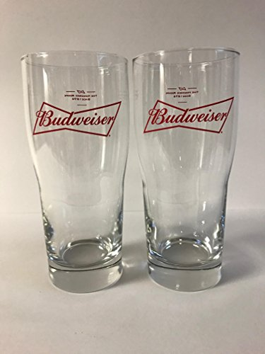 Budweiser Draft Beer - Budweiser Draught Beer 20oz Glass - 2 Pk