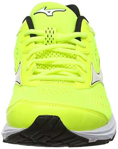Running safetyyellow Rider Amarillo Wave Mizuno black 10 Para safetyyellow Hombre 22 Zapatillas De gXxBz