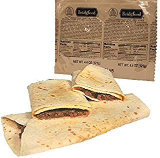 product image for Bridgford BBQ Pork Wrap MRE - Camping or Hiking Snack Survival Food Ready to Eat Meals - 3 Pack