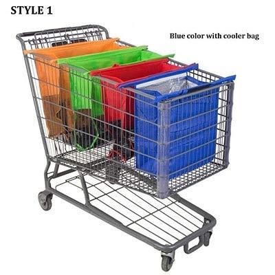 Amazon.com - Loune Week Reusable Grocery Bags 4PCS/Set ...