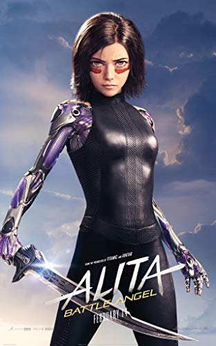 newhorizon Alita Battle Angel Movie Poster 16'' x 25'' NOT A - Angel Poster Movie
