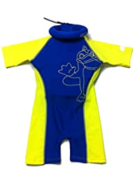 Boys Swimsuit with Floating Safety Device Pool Training UV protection Swim Floats