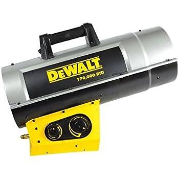 DeWalt DXH170FAVT Forced Air Propane Heater