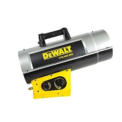 Forced Air Propane Heater >> Dewalt Dxh170favt Forced Air Propane Heater