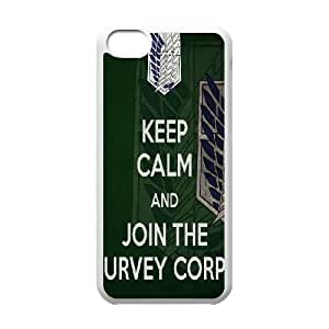Ipod 6 Touch 6 Cell Phone Case White Attack On Titan Iiiqx Protective Csaes Cover