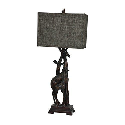 Crestview Collection Giraffe Bronze Table Lamp from Crestview Collection