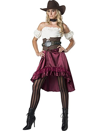 InCharacter Women's Wild Saloon Sweetie Costume, X-Large ()