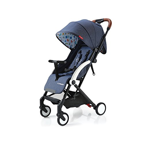 Baby Stroller Light Weight Stroller Portable Stroller (Navy) by Buringer