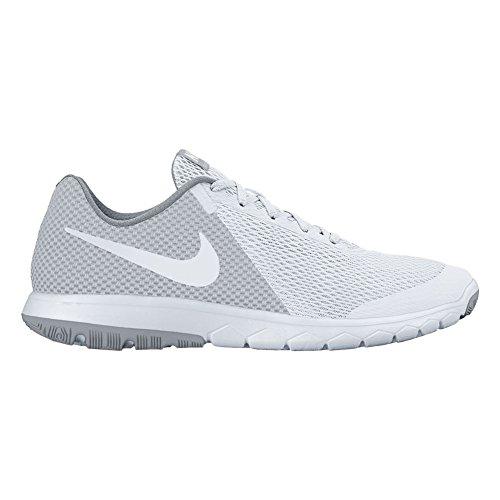 Nike - Zapatillas de nordic walking de Material Sintético para mujer White/Wolf Grey