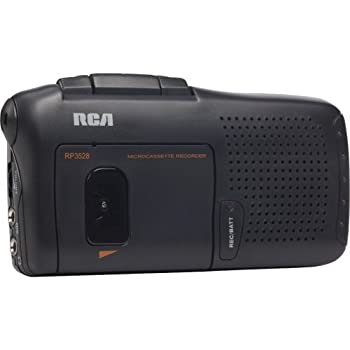 Image of Cassette Players & Recorders RCA RP3528 Micro-Cassette Voice Recorder