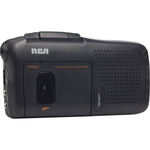 RCA RP3528 Micro Cassette Voice Recorder product image