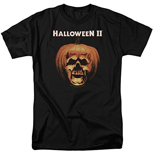 Halloween II Title Pumpkin Adult Movie T-Shirt Tee