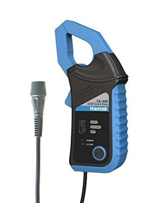 Hantek CC650 AC/DC Current Clamp for Hantek&Other Makes Auto Oscilloscopes and DMMs,BNC Plug