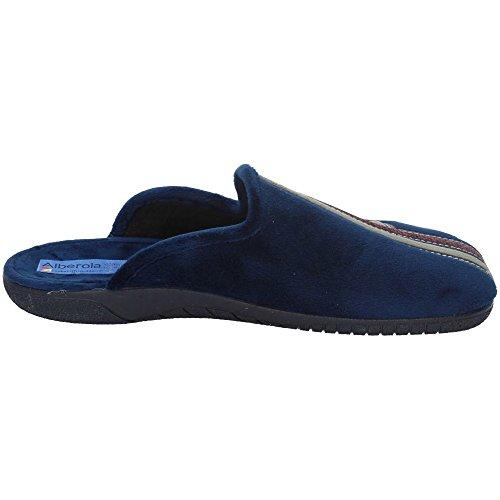 ALBEROLA Herren Hausschuhe Marineblau