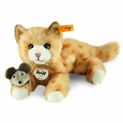 Steiff Mimmi Tabby Catz Plush, Red Steiff Cat