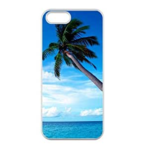 Welcome!Iphone 5/5S Cases-Brand New Design Cocos Nucifera Printed High Quality TPU For Iphone 5/5S 4 Inch -03