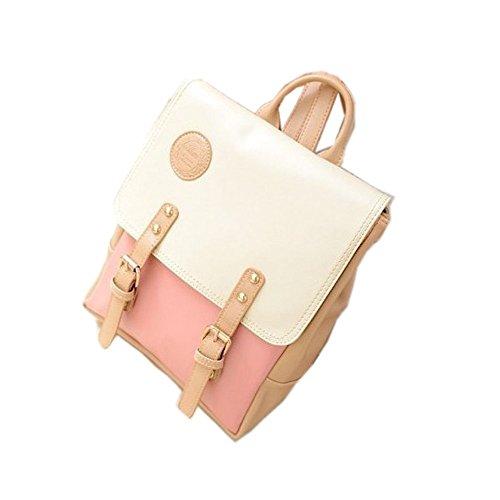 2014 New Korean Vintage Casual Women's Backpack School Bag Fashion Travel Pu Leather Handbag