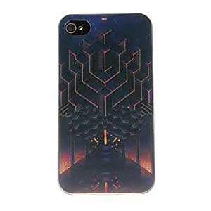 LZXEntrance to the Universe Pattern PC Hard Case for iPhone 4/4S