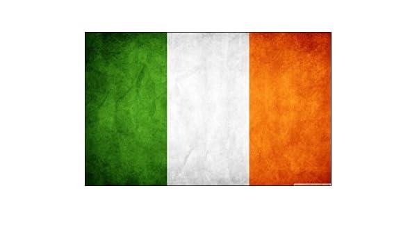 MAGNET VINTAGE Ireland Flag old distressed decal irish