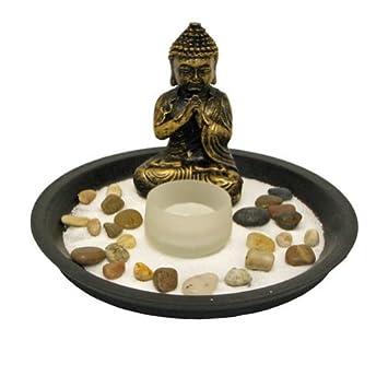 Round Buddha Zen Garden