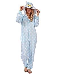 Body Candy Women's Plush Adult Animal Hood Onesie Pajama