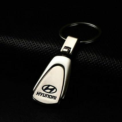 Amazon Champled Hyundai Emblem Keychain Keyring Logo Symbol