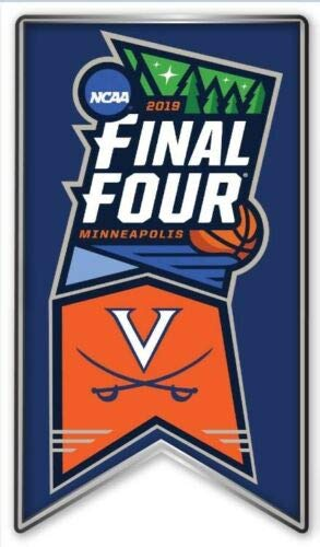 (Elusive Dream Marketing Services 2019 Mens Final Four PIN Basketball NCAA Virginia Cavaliers College March Madness)