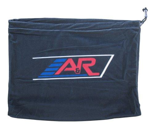 Hockey Helmet Bag - A&R Sports Velour Helmet Bag, Black