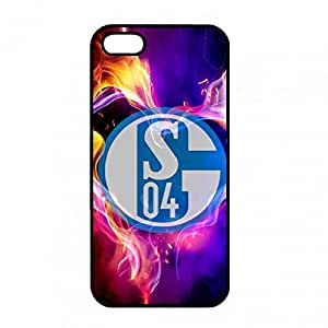 MK Logo Phone Funda,FC Schalke 04 Logo Phone Funda,FC Schalke 04 Cover Phone Funda,IPhone5/IPhone5S Funda