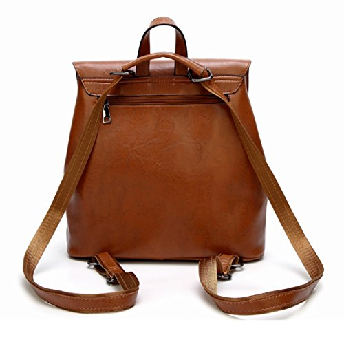 Handbags Marrone a donna tracolla Soft singola colore Igspfbjn blu Borsa TwqB5qR