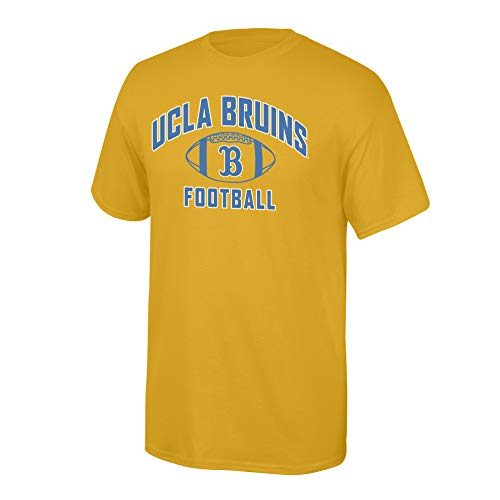 (Elite Fan Shop NCAA Men's Ucla Bruins Team Color Football T-shirt Ucla Bruins Gold Small)
