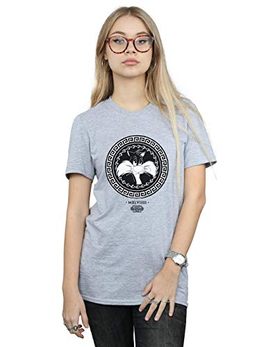 Absolute Fit Looney Ami Femme Cult Petit Tunes Sport shirt Circle Greek Gris Sylvester T wZzwg