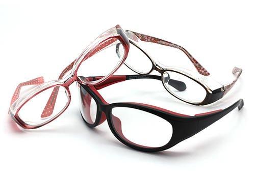 【花粉症対策メガネ Zoff AIR VISOR】日常使いしやすいメガネタイプ(度なし)(Mサイズ)
