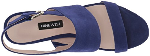 Blue Daim Femme West25032626 Nine Dark Suede Forli wqOFH