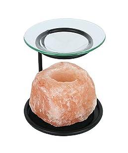 Something Different OB_84112 Salt lamp oil burner
