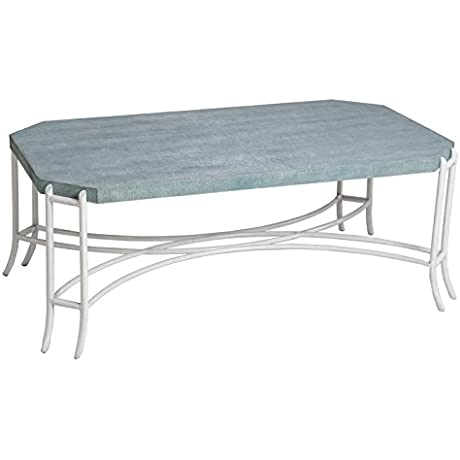 Reual James 970 010 Cocktail Table Turquoise Viper