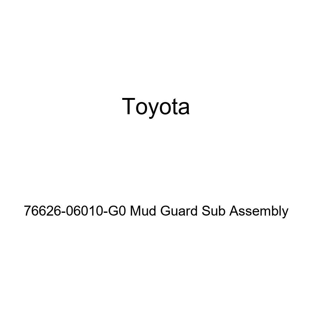 TOYOTA Genuine 76626-06010-G0 Mud Guard Sub Assembly
