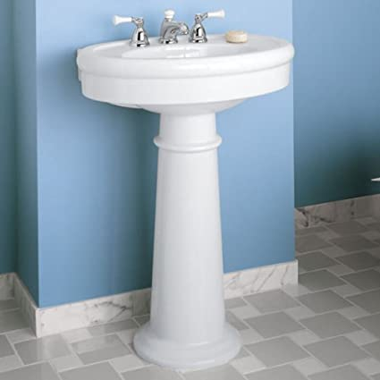 American Standard 0283.800.222 Standard Collection Pedestal Bathroom on wood vanities for bathrooms, heated towel racks for bathrooms, jetted tubs for bathrooms, bathroom for bathrooms, vanity tops for bathrooms, green board for bathrooms, lowe's creative ideas for bathrooms, plumbing codes for bathrooms, chandeliers for bathrooms, tile paint for bathrooms, wall mounted mirrors for bathrooms, shades of green for bathrooms, hardware for bathrooms, bath tubs for bathrooms, sink faucets for bathrooms, appliances for bathrooms, diy for bathrooms, double sink vanities for bathrooms, toilets for bathrooms, curtains for bathrooms,