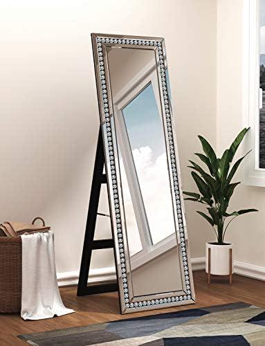 Full Length Mirror Standing -18 x 58 Mirrored Framed Full Length Mirror