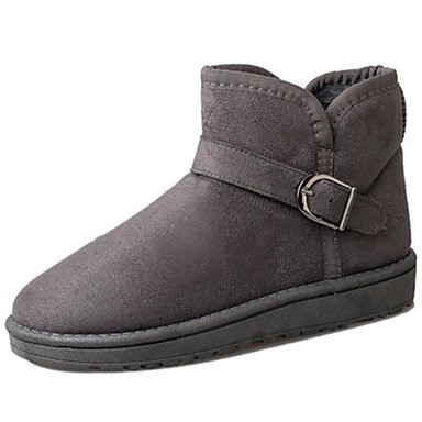 WSX&PLM Da donna-Stivaletti-Tempo libero Casual-Comoda-Piatto-Pelliccia-Nero Blu Marrone Grigio Caffè , light brown , us8.5 / eu39 / uk6.5 / cn40