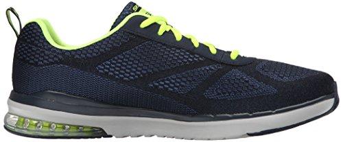Skechers Skech Air - Infinity Relaxed Fit - Zapatillas de deporte exterior Hombre Azul - Blue (Navy Nvyl)