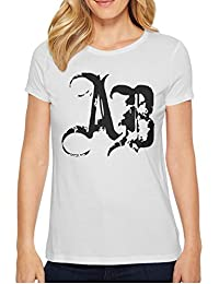 Women's O-Neck Short White T-Shirts Alter Bridge Graphic Tees