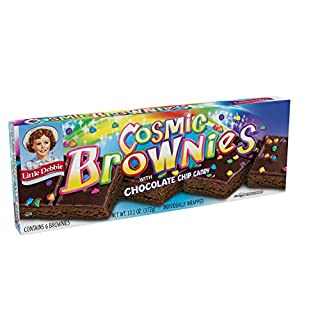 Little Debbie COSMIC Brownies, 13.1 Ounce